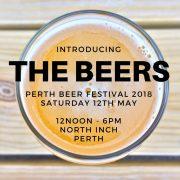 PerthBeerFestivalBeers2018