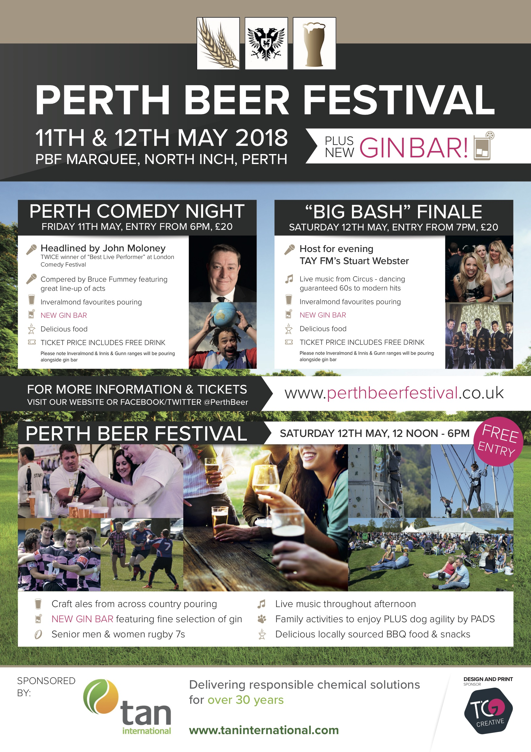 Perth Beer Festival 2018 Weekend Line-up