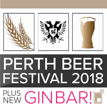 Perth Beer Festival 2018 with gin bar