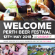 PerthBeerFestival2018Welcome